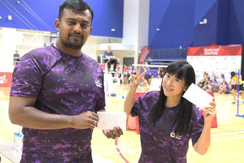 Badminton at Heartbeat@Bedok